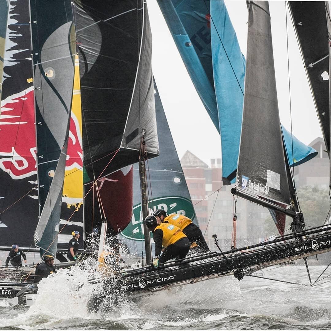 2018国际极限帆船系列赛青岛站比赛9月30日举行