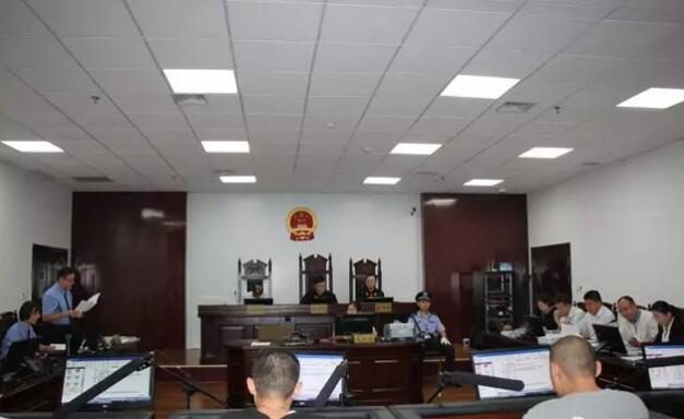 广饶法院公开开庭审理西文晓等7人涉恶案件