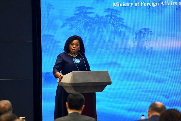 赞比亚驻华大使温妮·齐贝萨孔达:期望加强同山东的人文交流 打造更深的伙伴关系
