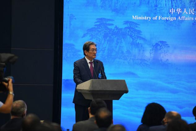 韩国驻华大使卢英敏:地缘相近、人缘相亲、合作经验丰富的韩国与山东省具有无限的合作潜力