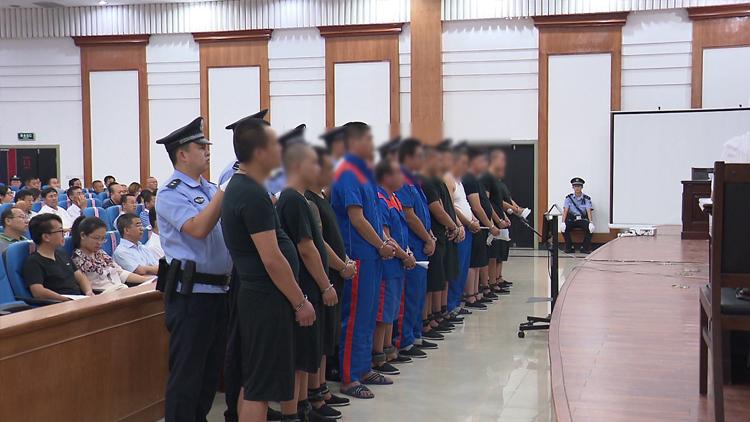 聚焦扫黑除恶专项斗争丨东营河口区法院公开审理首起涉恶案件