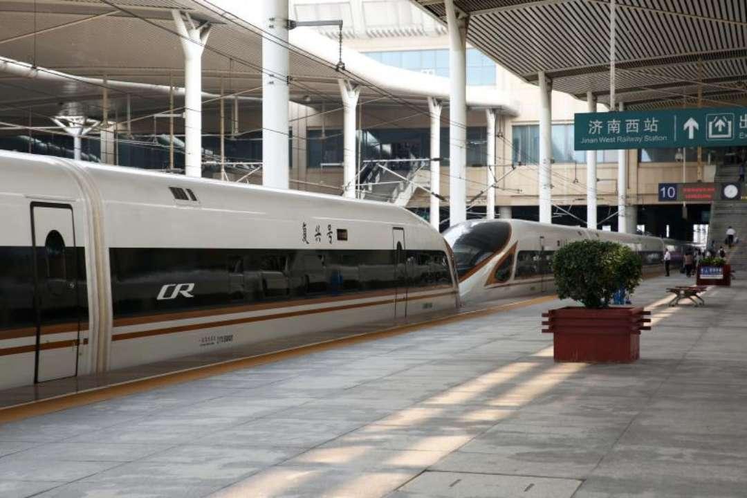 中秋节济南西站迎来客流返程小高峰 京沪、青荣方向车票紧张