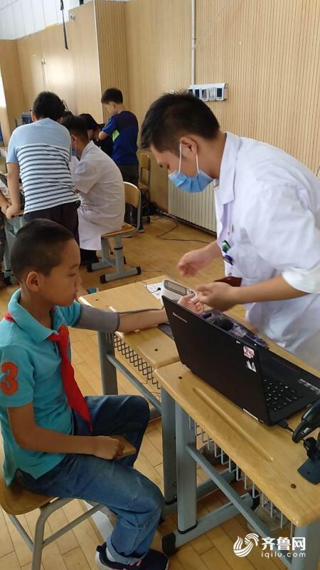 青岛崂山区社区卫生服务中心启动2018年度辖区内中小学生体检工作