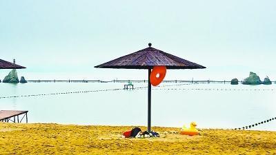 """聊城东昌湖沙滩浴场今年""""十一""""开始将免费对外开放"""