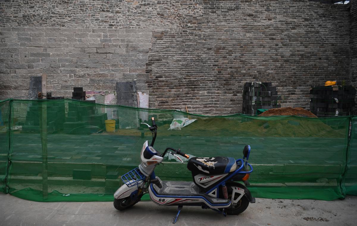 期待!济南市区现存唯一明代古城墙即将修复完工