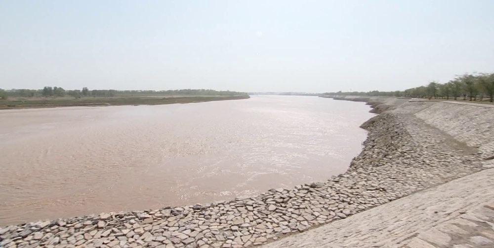 黄河山东段再迎3000³/s以上水流量过境 山东积极应对黄河秋汛