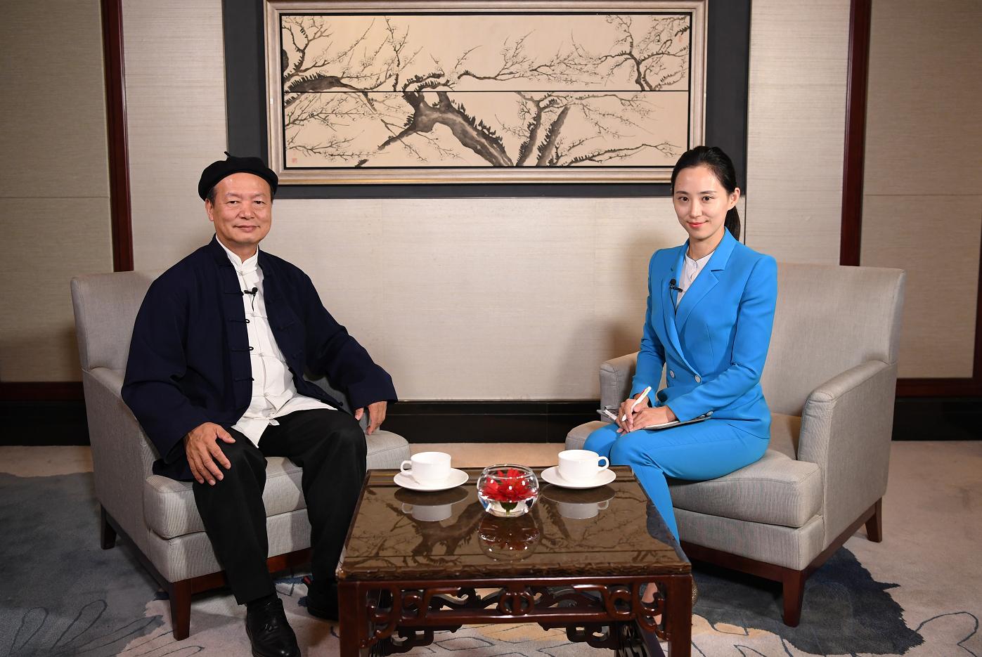 尼山论坛|对话林安梧:人人都能成为中国传统文化传播的使者