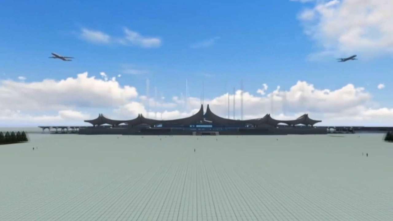 济青高铁车站雏形初现 沿线部分车站高清大图抢先看