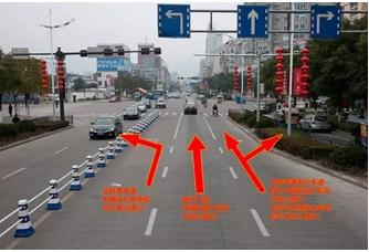 冠县人注意!城区部分路口右转车道更改为直行右转合用车道