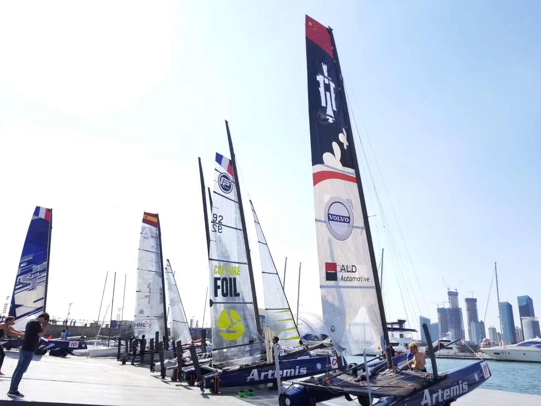 12支国际强队相聚青岛 2018国际极限帆船系列赛青岛站比赛船长见面会举行