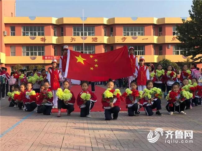 潍坊教育系统多彩活动迎国庆,共圆中国梦!
