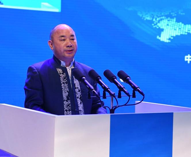 儒商大会2018丨正威国际王文银诗赞山东:齐鲁有文化而不骄