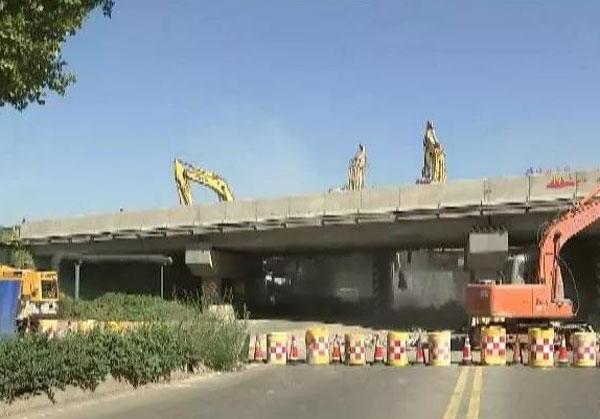 邹平黛溪三路城管局立交桥全封闭施工 绕行路线出炉