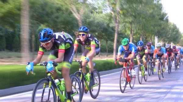 72秒 2018京杭大运河自行车赛途径德州 选手迎来极限挑战