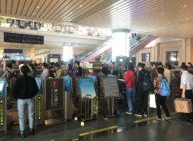 济南西站开行列车323列 创开站以来最高纪录
