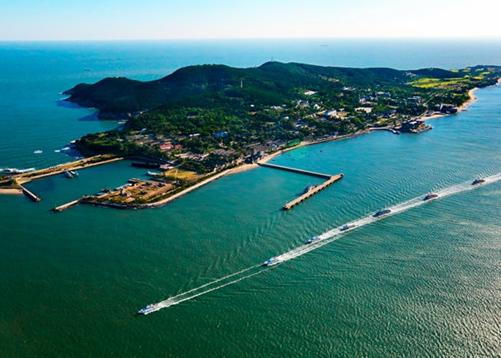因天气原因,6日威海刘公岛景区旅游船全天停航