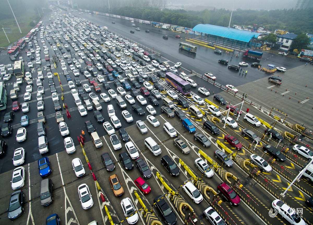 国庆期间山东出行车辆625万辆 返程最新路况看这里!