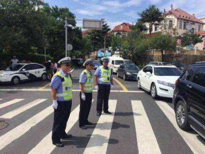 """查处各类交通违法9.3万余起 """"十一""""青岛道路交通秩序平稳有序"""