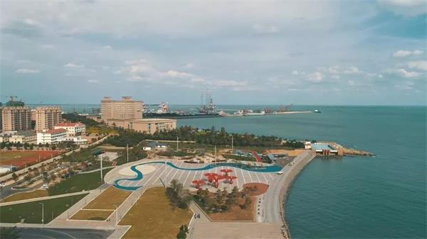 荣成石岛公园建成并投入使用 成市民休闲娱乐好去处