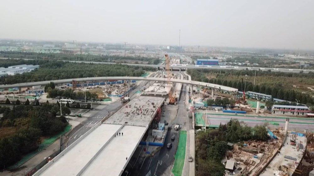 济南北园高架西延高架段明年元旦通车