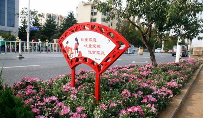 日照:鲜花扮靓马拉松赛道 已栽植各类花卉20万余株