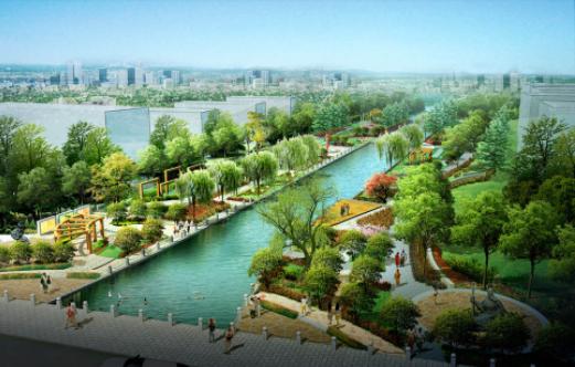 聊城:计划10年时间将主要河道建成风光秀美景观带
