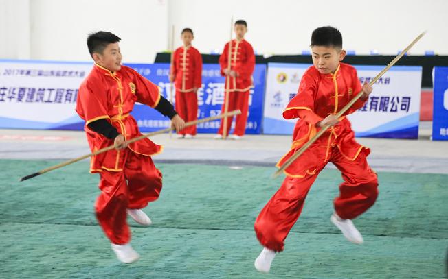 第四届山东省武术大会17日开幕  850余名武林高手争霸台儿庄