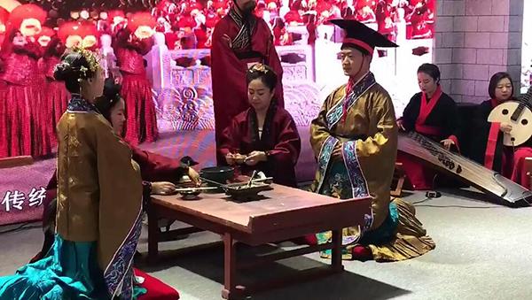 美翻了!山东文博会的这场儒家婚礼,能满足你对浪漫的所有想象