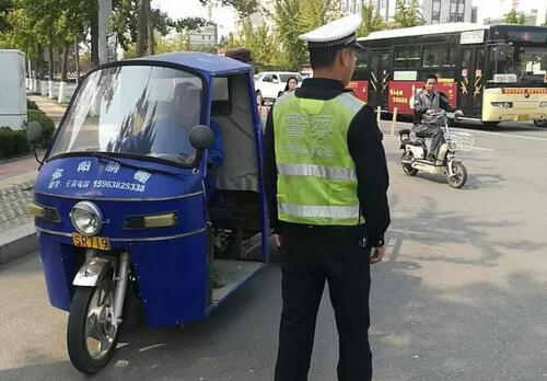 2019年1月起莒县三轮车、四轮代步车在县城四环内限行