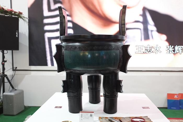 黑陶、剪纸、红绿彩...德州元素闪亮山东文博会(图)