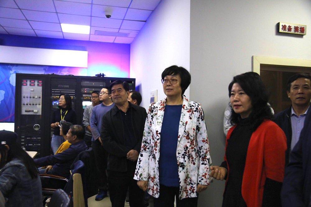 """淄博市领导指导""""八河联通 六水共用""""直播活动宣传工作"""