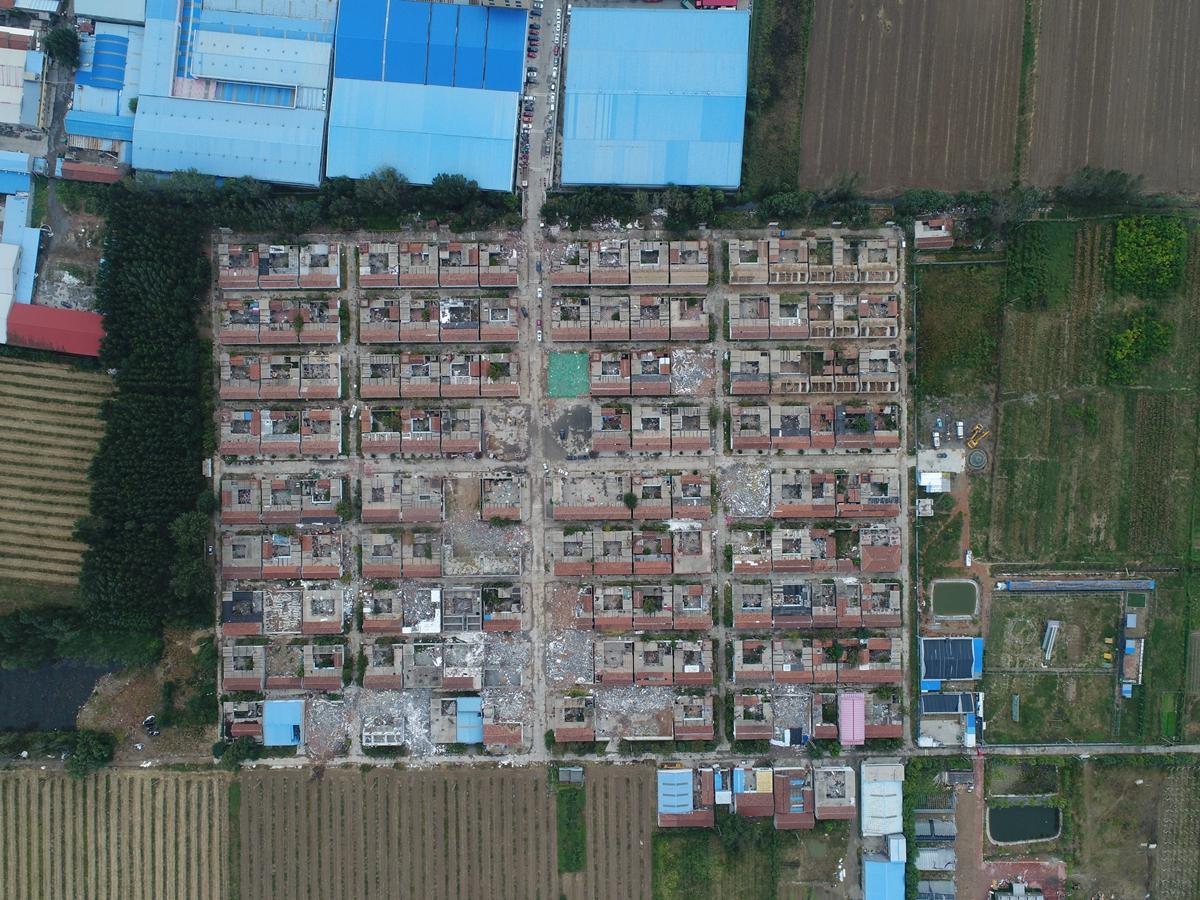 济南先行区7个村庄同时开拆 大桥街道年底之前完成拆迁
