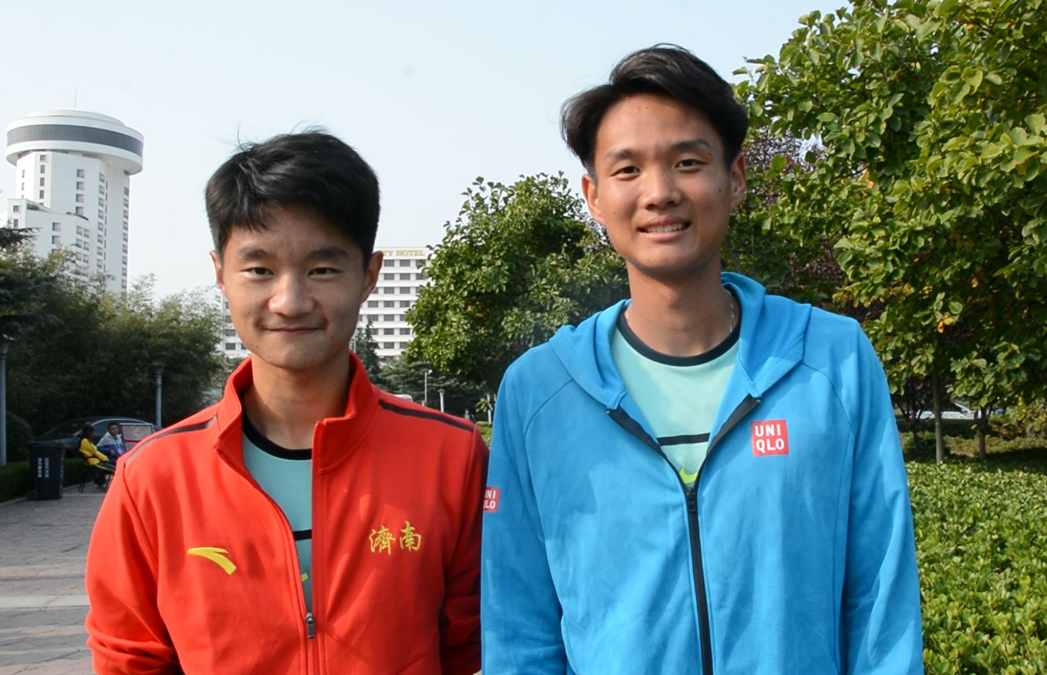 跃动齐鲁·看省运丨济南网球双子星晋级4强 直言目标是冠军