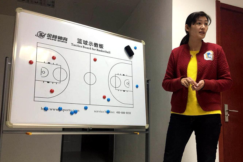 跃动齐鲁看省运·最美篮球女教练来自潍坊,曾是山东女篮主力