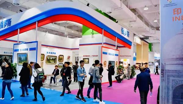 聚焦文博会:多国文创产品齐聚济南 展出规模历届最大