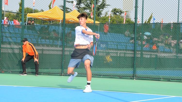 跃动齐鲁·看省运丨组图:网球王子真人版!你打球的样子真的好酷
