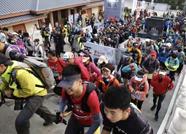 三上三下泰山!500名勇士挑战2018泰山100国际越野赛