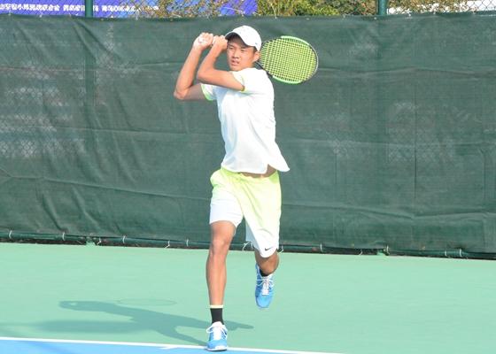 网球少年的大梦想 金雨全:想成为费德勒那样的巨星