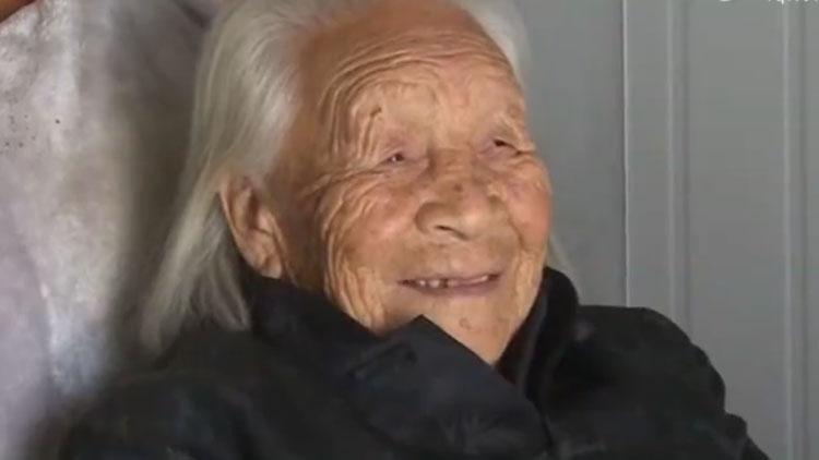 成武103岁老人的长寿经:心态好,每天散步锻炼