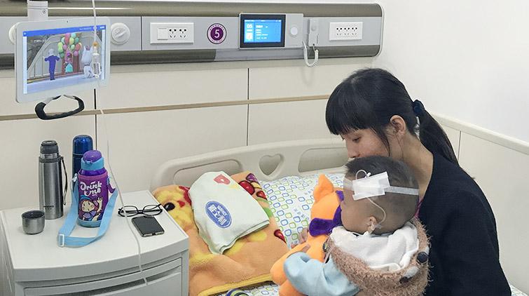 """""""智慧化病房""""无叫铃!济南市妇幼保健院新增智能儿科病房"""