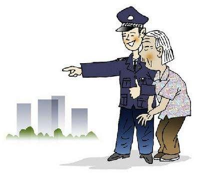 """淄博:七旬老人街头徘徊  竟是""""任性""""奶奶与家人起纠纷离家出走"""