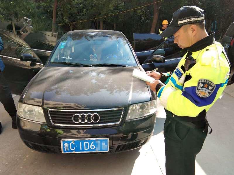 精准布控 迅速出击 淄博交警20分钟查扣两辆假牌车