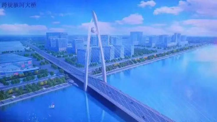 聊城中华路北延工程计划于11月10日开始桩基施工