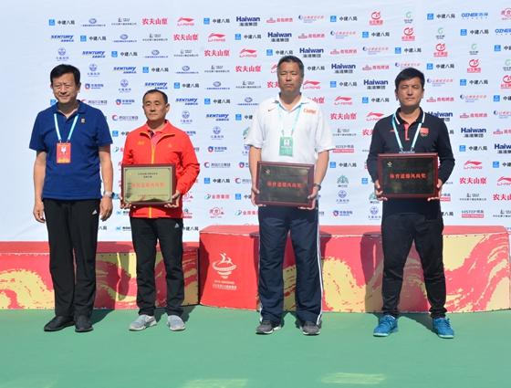 跃动齐鲁看省运·网球赛事完美?#23637;?济南代表团成最大赢家
