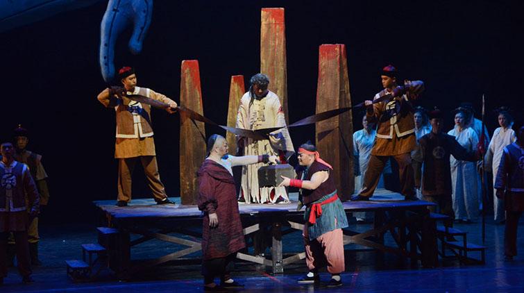 莫言亲自改编的歌剧作品《檀香刑》山艺学子倾情上演