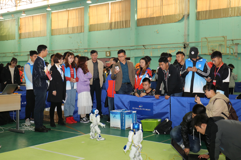 第十届山东省大学生科技节机器人大赛暨第七届山东省高校机器人大赛在青岛举行