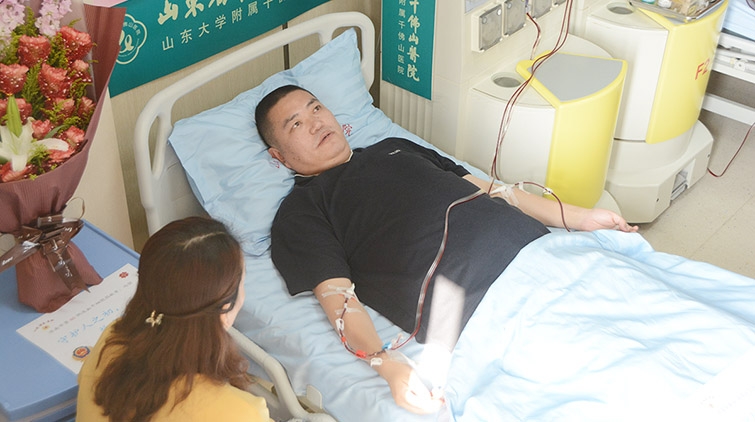 济南捐献造血干细胞小伙:捐献助人,快乐自己!