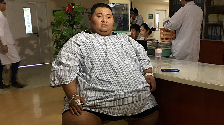 """减重的最大动力是结婚!当""""山东第一胖""""碰撞""""山东第二胖"""""""
