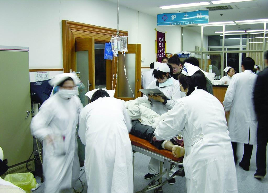 揪心!枣庄一女婴感冒竟导致呼吸衰竭 体温40.1℃