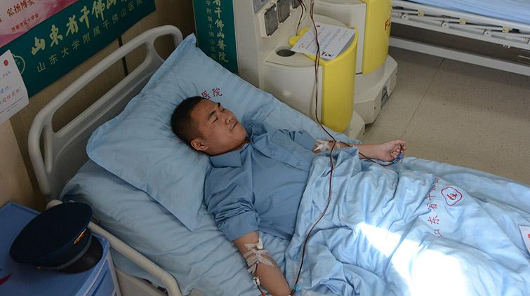 济南第61例造血干细胞募捐者:这是宁静年月的贡献!